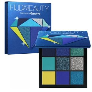 Brand new in box Huda beauty sapphire obsessions